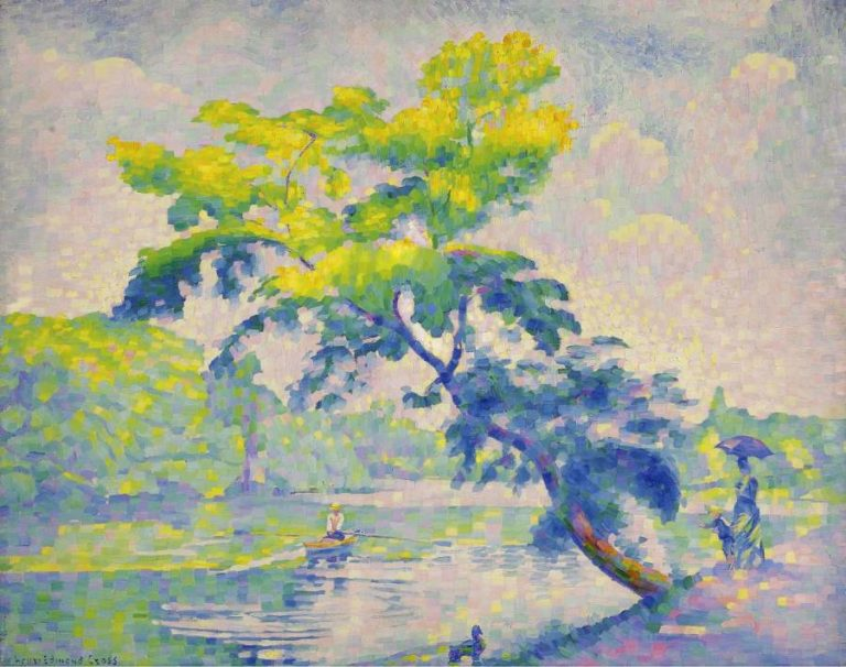 Benting Tree 1905 | Henri Edmond Cross | oil painting
