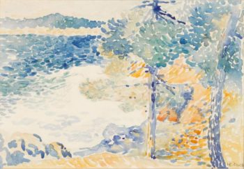 Landscape Saint Clair | Henri Edmond Cross | oil painting