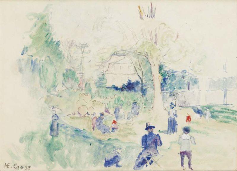 Ranelagh (study) 1900 | Henri Edmond Cross | oil painting