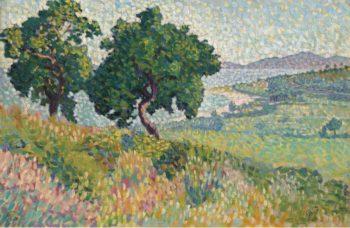 The Bay of Saint Clair | Henri Edmond Cross | oil painting