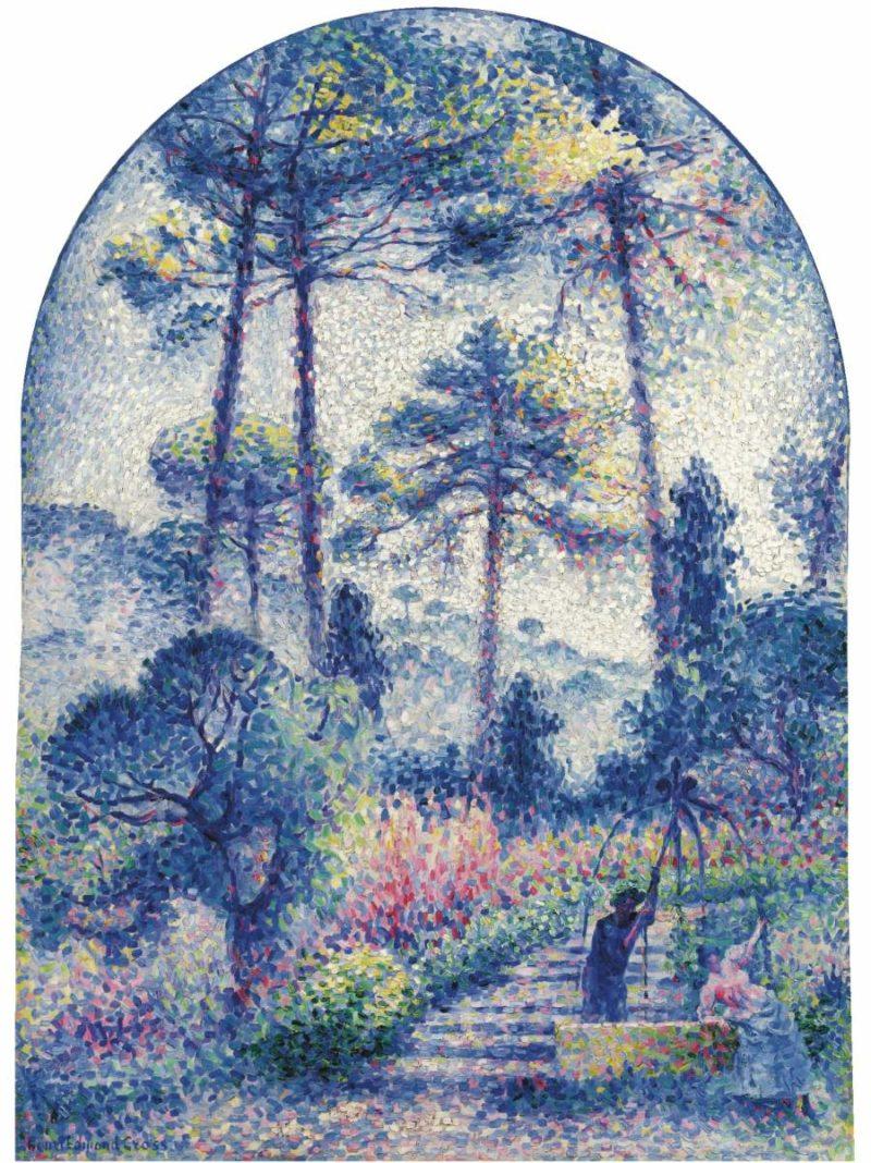 The Garden at Provence 1901 | Henri Edmond Cross | oil painting