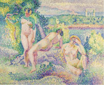 The Nymphs 1906 | Henri Edmond Cross | oil painting