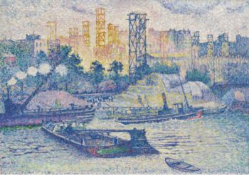 The Quay of Passy 1899 | Henri Edmond Cross | oil painting