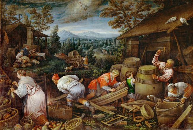 August | Leandro Bassano | oil painting