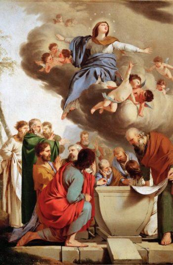 Assumption of the Virgin   Laurent de La Hyre   oil painting