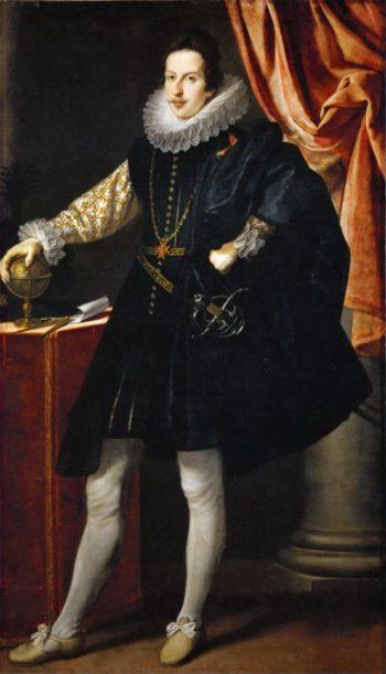 Grand Duke Cosimo II of Tuscany | Justus Suttermans | oil painting