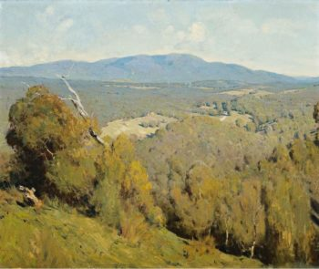Yarra Valley Landscape 1918 | Penleigh Boyd | oil painting