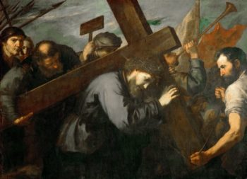 Christ Carrying the Cross -1635 | Jusepe de Ribera | oil painting