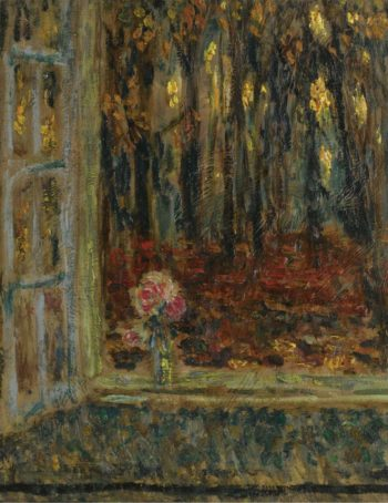 The Window in Autumn 1916 | Henri Le Sidaner | oil painting