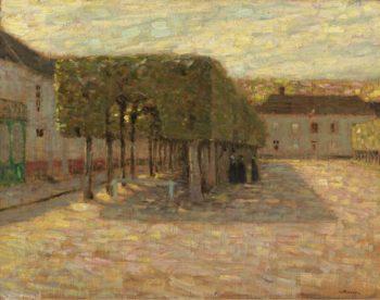 Trimed Trees 1901 | Henri Le Sidaner | oil painting