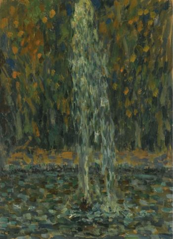 Water Jet 1925 | Henri Le Sidaner | oil painting