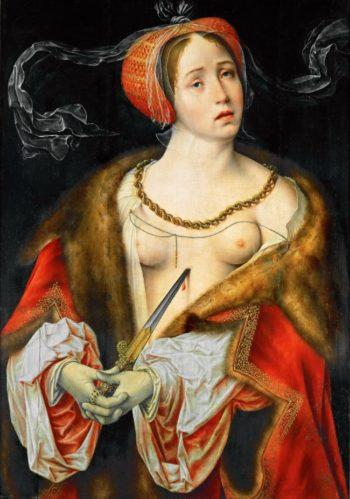 Lucretia | Joos van Cleve | oil painting