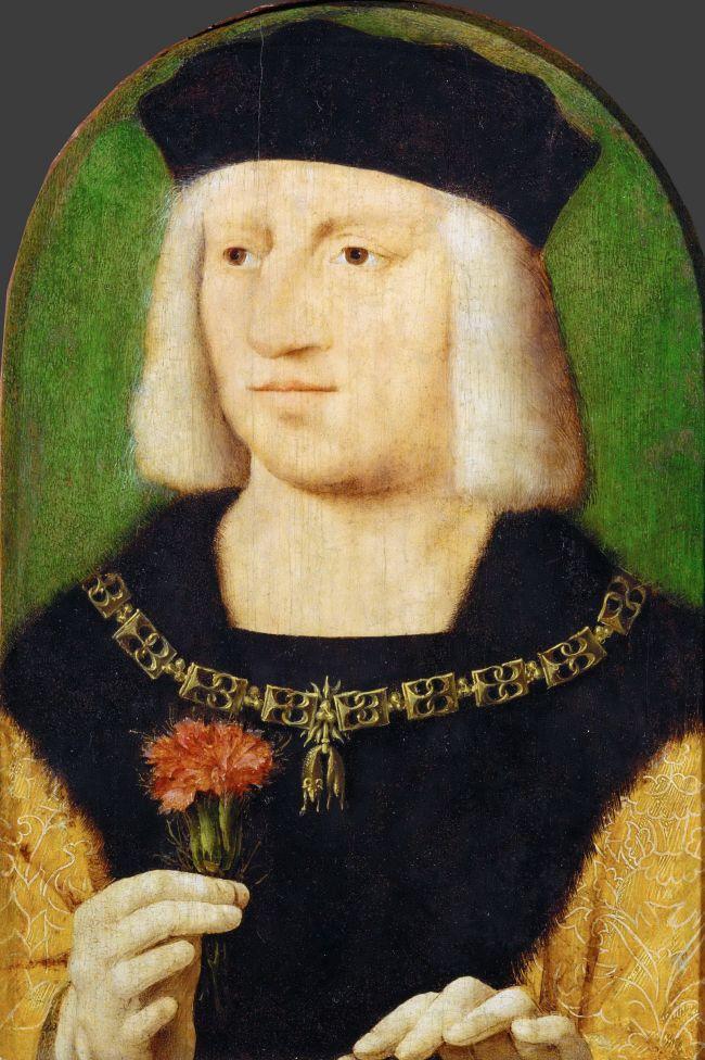 Emperor Maximilian I | Joos van Cleve | oil painting