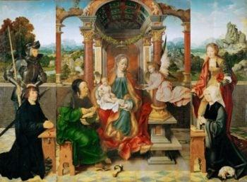 Altar | Joos van Cleve | oil painting