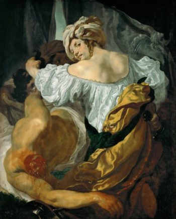 Judith with the head of Holofernes | Johann Liss | oil painting