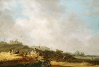 Landscape with Dunes | Jan van Goyen | oil painting