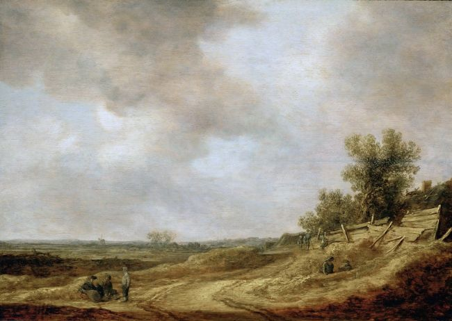 Flat Landscape | Jan van Goyen | oil painting