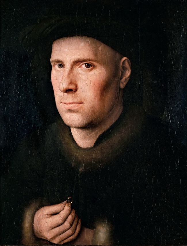 Portrait of Jan de Leeuw | Jan van Eyck | oil painting
