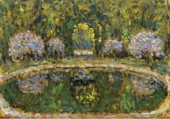 Bassin de Trianon 1916 | Henri Le Sidaner | oil painting