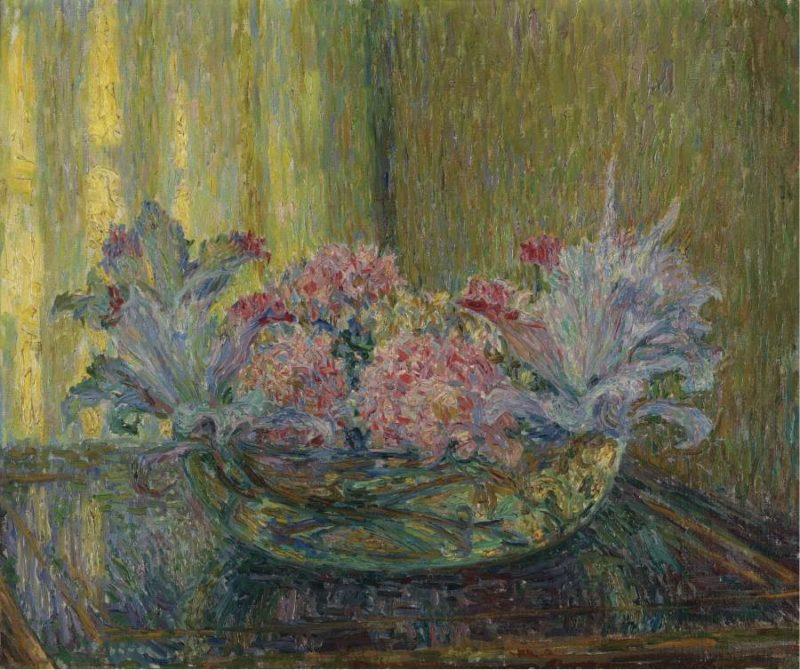 Bouquet of Flowers 1917 | Henri Le Sidaner | oil painting