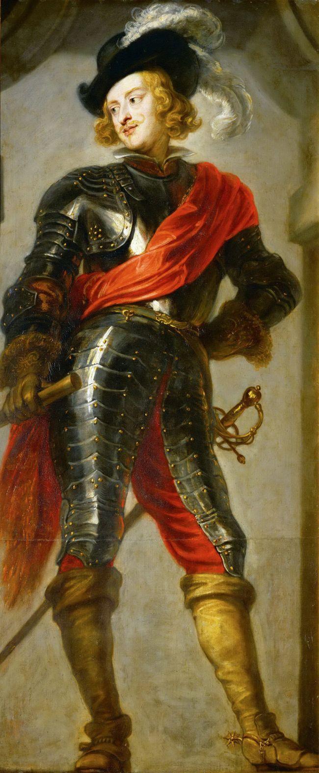 Cardinal-Infant Ferdinand -1609-1641 as Victor of the Battle of Nordlingen | Jan van den Hoecke | oil painting
