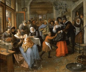 The Deceived Bridegroom | Jan Steen | oil painting