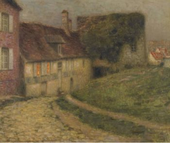 Old Houses 1903 | Henri Le Sidaner | oil painting
