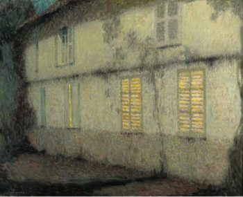 Shutters Closed Gerberoy 1933 | Henri Le Sidaner | oil painting