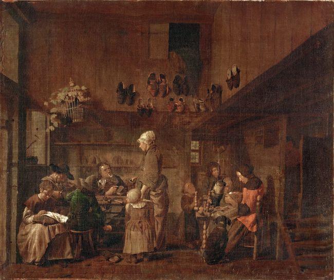 Cobblers Workshop | Jan Josef Horemans the Elder | oil painting