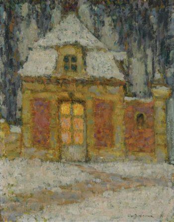 Snow Versailles 1911 | Henri Le Sidaner | oil painting