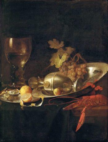 Breakfast Still Life | Jan Davidsz de Heem | oil painting