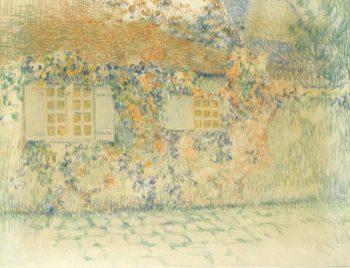 Studio Gerberoy 1924 | Henri Le Sidaner | oil painting