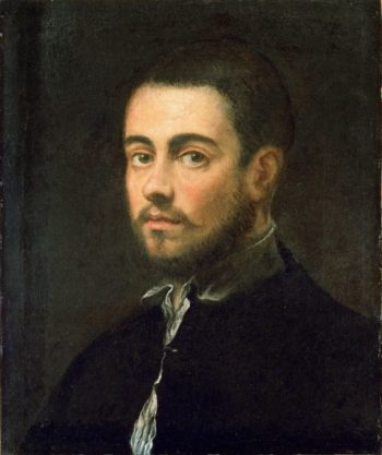Young Man with a Beard | Jacopo Tintoretto | oil painting