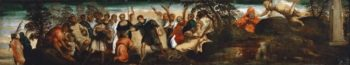 The Prediction to David | Jacopo Tintoretto | oil painting