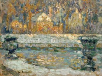 The Pool of Neptune at Versailles 1912 20 | Henri Le Sidaner | oil painting
