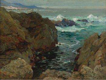 Cote de Bretagne 1901 | Henry Moret | oil painting