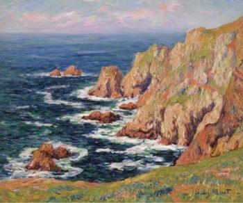 De Cote Sauvage 1908 | Henry Moret | oil painting