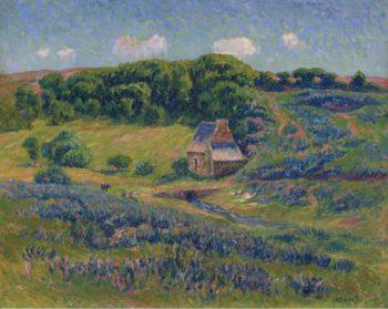 Farm in Bretonne Campagne | Henry Moret | oil painting