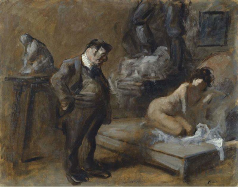 The Artist`s Studio 1910 | Jean Louis Forain | oil painting