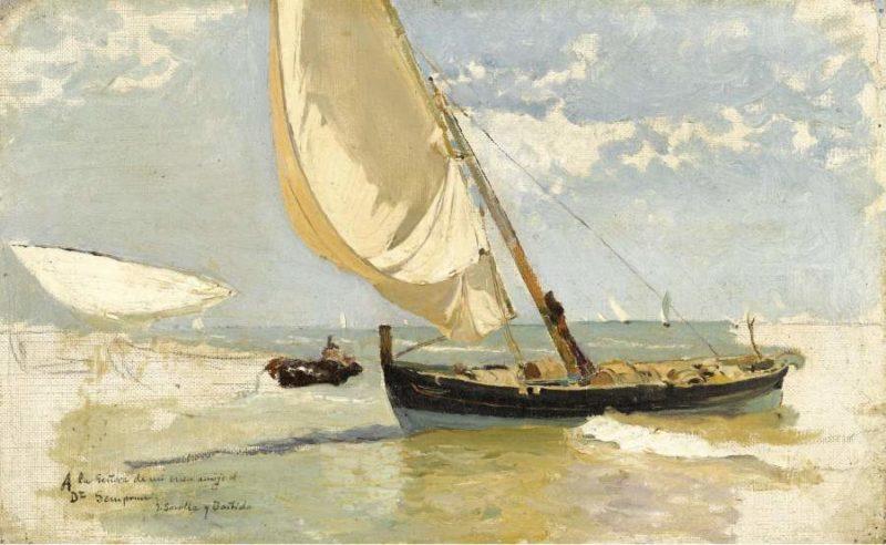 Beach Study 1923   Joaquin Sorolla y Bastida   oil painting
