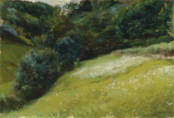 The Field in Asturias San Esteban de Pravia 1903 | Joaquin Sorolla y Bastida | oil painting