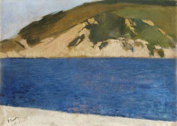 Ulia Mount San Sebastian 1917 | Joaquin Sorolla y Bastida | oil painting