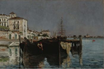 Venice 1877 | John Henry Twachtman | oil painting