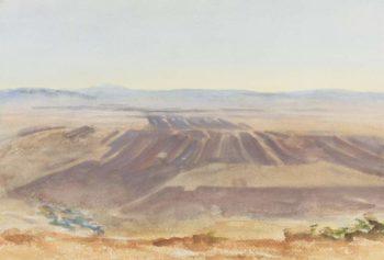 The Plains of Nazareth 1905 06   John Singer Sargent   oil painting