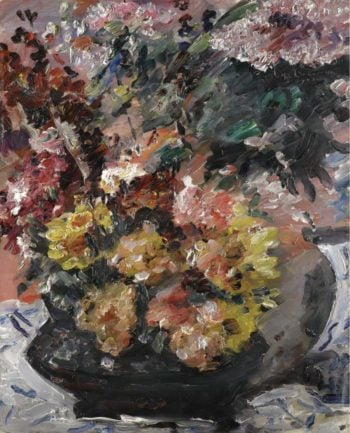 Flowers in a Bronze Bucket 1923 | Lovis Corinth | oil painting
