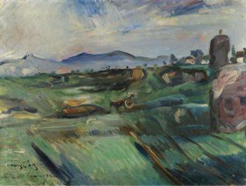Roman Landscape 1914 | Lovis Corinth | oil painting