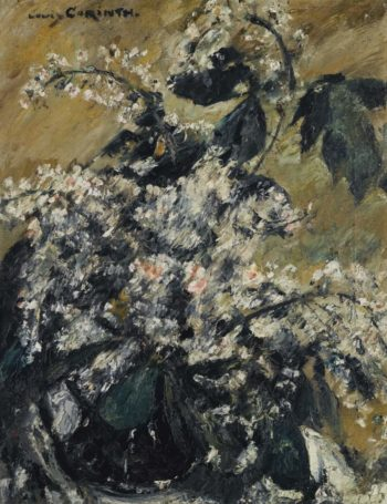 Horse Chestnut in Bloom 1913 | Lovis Corinth | oil painting