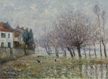 After the Flood Haute Indre the Lower Loire 1904 | Maxime Maufra | oil painting