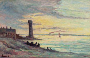 Honfleur 1929 | Maximilien Luce | oil painting