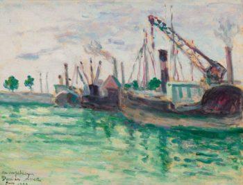 Honfleur 1933 | Maximilien Luce | oil painting